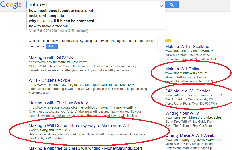 Is your law firm getting the Google search rankings it deserves? There are new competitors on the block