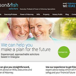 Legal website design for law firms internet marketing for Fish law firm