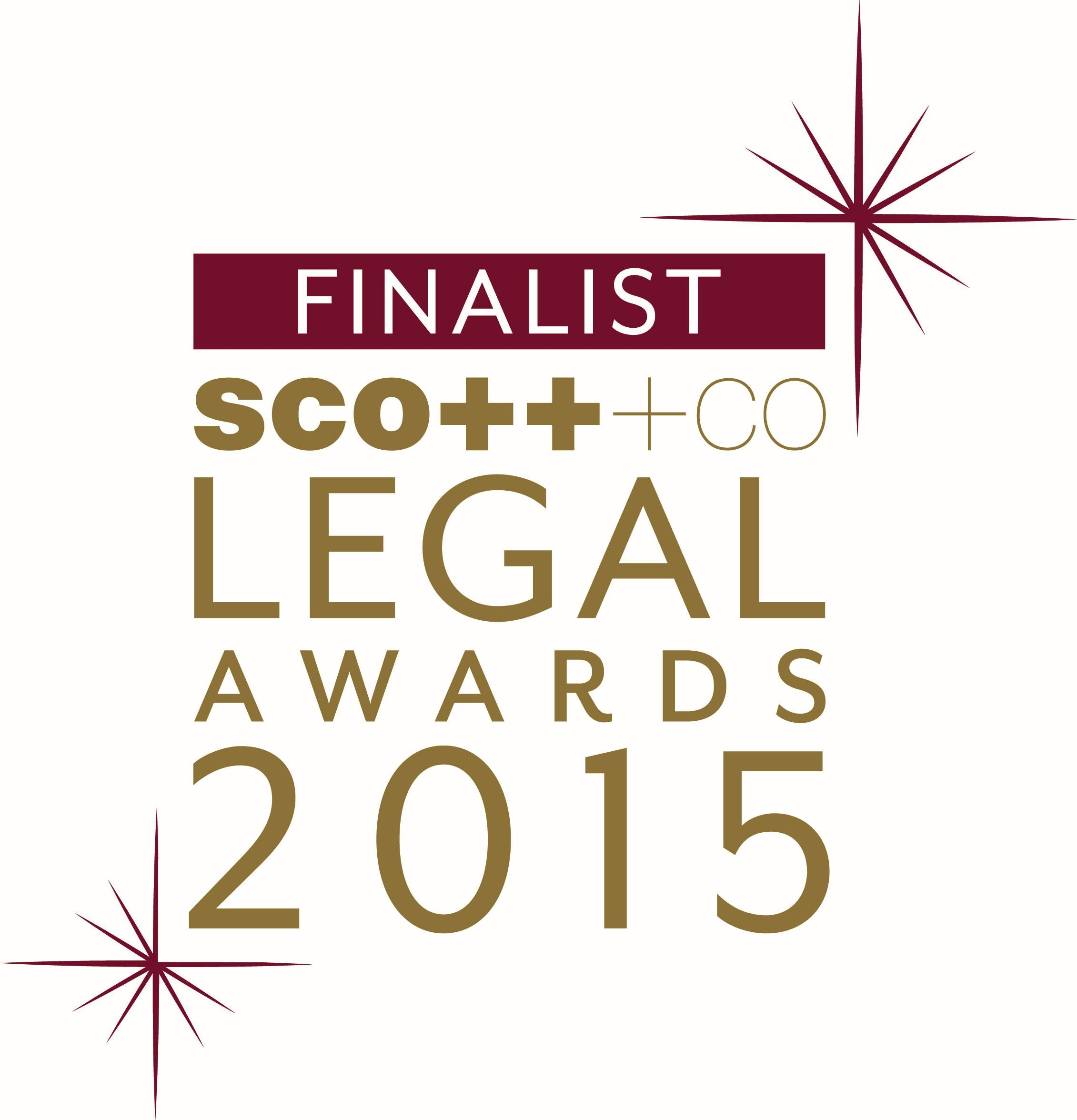 Moore Legal Technology Shortlisted for Top Award