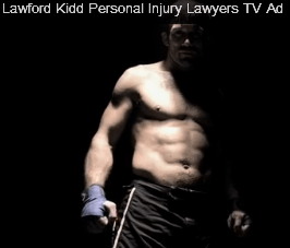 Lawford Kidd's Personal Injury Claims TV Ad Campaign Goes Live